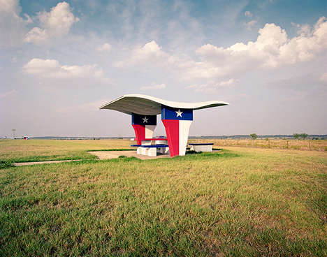 Rest Stop Photography - Ryann Ford Photographs Disappearing American Rest Stops in This Series