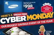 Cyber Sale Flyers - This Walmart Ad Previews Cyber Monday Online Sales