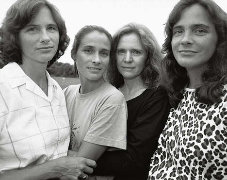 Poignant Sisterhood Portaits - Nicholas Nixon Captures the Bond of Sisterhood in His Archival Series