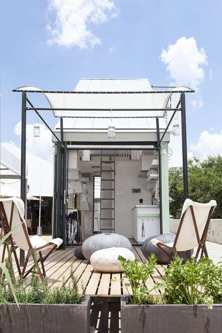 Off-Grid Tiny Homes - The POD-Indawo is Designed For Life in South Africa
