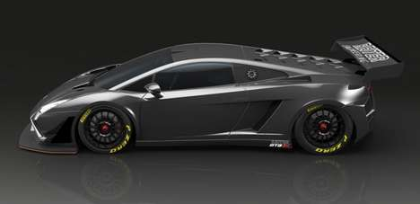 Reimagined Race Cars - The Lamborghini Gallardo GT3 Extenso is Wider and Lighter