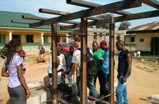 Solar-Powered Educational Kiosks