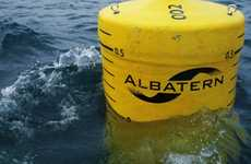 Floating Energy Generators - WaveNET is a Floating Power Generating Contraption