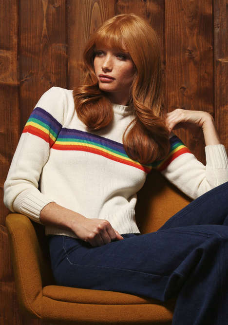 Vibrantly Retro Winterwear - The Stoned Immaculate Vintage Winter Collection is Sunny and Bright
