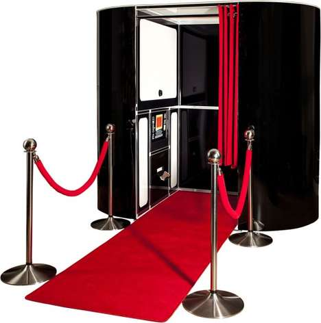 Customizable Photo Booths - Showtime's Wedding Photo Booths Have Skins to Match Your Decor