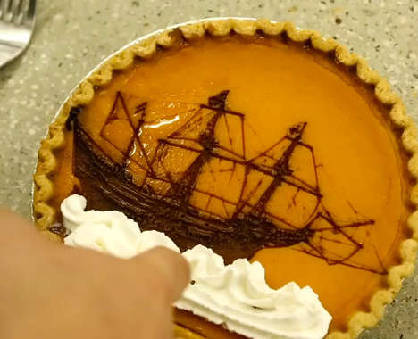 Laser-Etched Pies