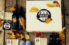 Craft Beer Subscriptions - The Brew Box Co. Delivers a Variety of Craft Beers to Your Doorstep