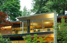 Abundant Foliage Abodes - This Dunbar-Southlands Neighborhood Residence Uses the Landscape