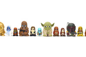 This Collection of Adorable Star Wars Dolls Fit Inside Each Other