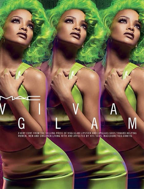 11 MAC Viva Glam Initiatives - From Social Media Celeb Gowns to Socially Conscious Cosmetic Ads