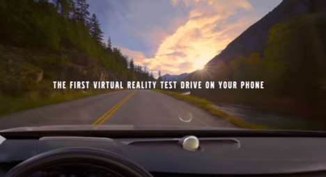 Virtual Driving Apps - Volvo's Car Test Drive Game Takes You Inside a Virtual Vehicle
