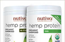 Raw Hempseed Proteins - Nutiva's Organic Hemp Protein is Infused with Plant-Based Nutrients