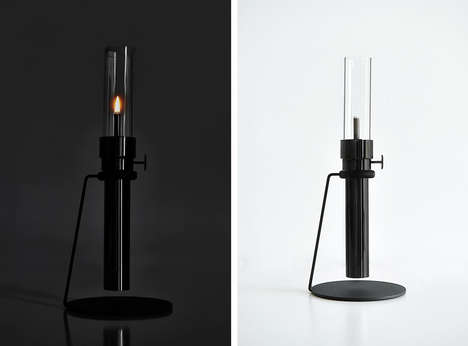 Modern Oil Lamps - Castor Design Puts a Contemporary Twist on a Traditional Lighting Option