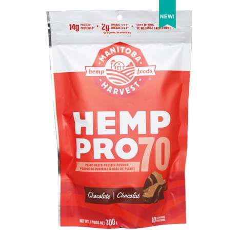 Hemp-Infused Protein Powder - Manitoba Harvest's Hemp Pro 70 is Filled With Chocolatey Goodness