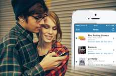 Personalized Artist Newsfeeds - This Entertainment News Service Updates You on Your Favorite Artists