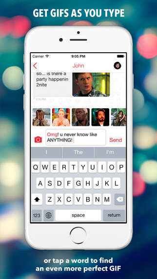 GIF Keyboard Apps - Pixit's GIF Keyboard Suggests Comical GIFs in Real-Time