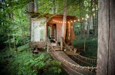 Secluded Treehouse Homes