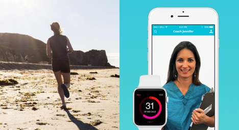 Personalized Fitness Training Apps - Your Health Coach Gives You Catered Instruction via Video Chat