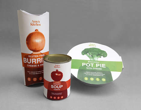 Playful Vegetarian Packaging - This Concept Vegetarian Food Packaging Features Literal 'Veg Heads'