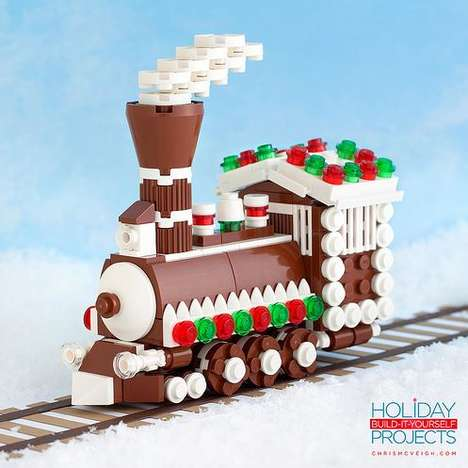 LEGO Holiday Decor - Chris McVeigh Creates DIY Ornaments that are Cheerful and Playful