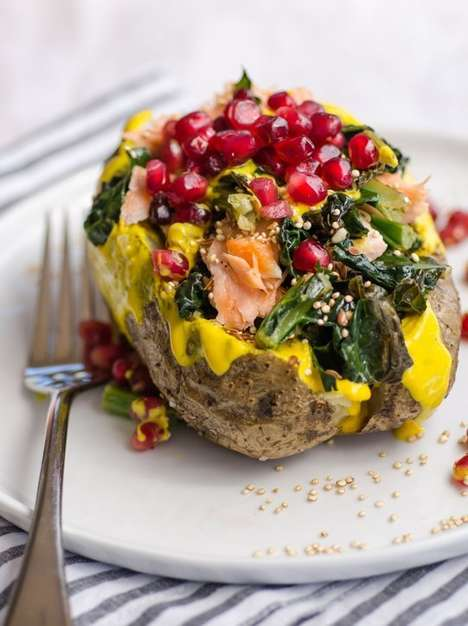 Stuffed Superfood Potatoes - The Kitchn's Superfood Baked Potato is Filled with Healthy Goodness