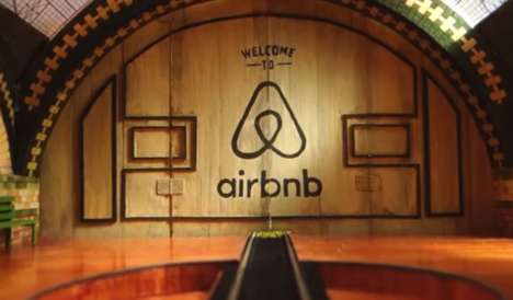 One-Shot Diorama Ads - The Welcome to Airbnb Campaign Features a Delightfully Handmade Miniature Set