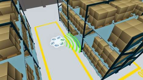 Inventory-Monitoring Drones - Fraunhofer's Flying Robots Will Simplify Inventory Administration