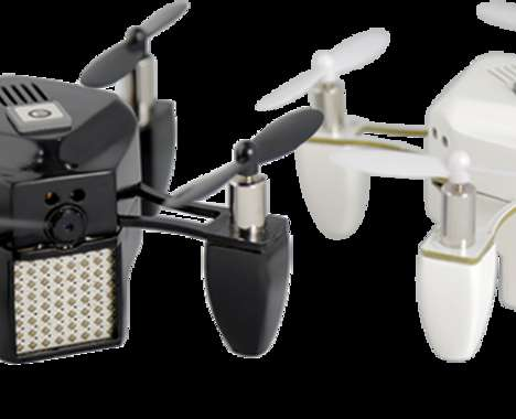 Palm-Sized Selfie Drones