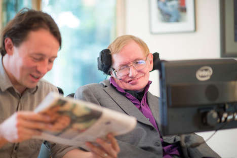 Communication-Assisting Interfaces - Intel Revamps Stephen Hawking's System After 20 Years