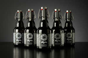 Alfaia's Craft Beer Bottles Borrow Traits from Upscale Wine
