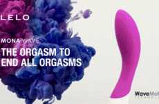 Wave-Motion Intimacy Toys - The LELO Waves Toys Use 'WaveMotion' Technology for Unmatched Pleasure