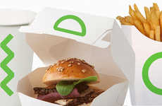 Ancient Egyptian-Themed Branding - This Saudi Chain's Burger Packaging Uses Lime Green Hieroglyphics