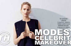 Modest Celebrity Makeovers - Misel Saban Counts Down This Year's Simple Celebrity Magazine Covers