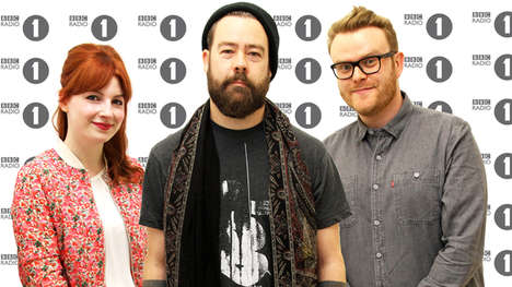 Rock Radio Lineups - BBC Radio 1 Introduces a Brand-New Rock Show