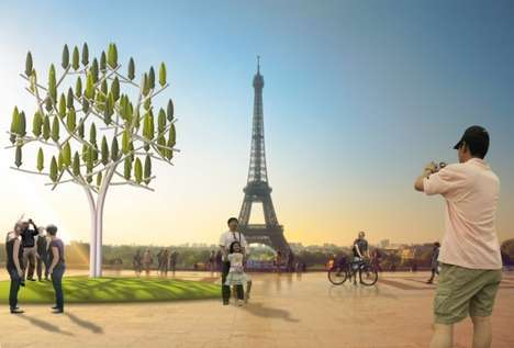 Tree-Shaped Turbines - The Winds Tree Generates Power From Low-Speed Winds