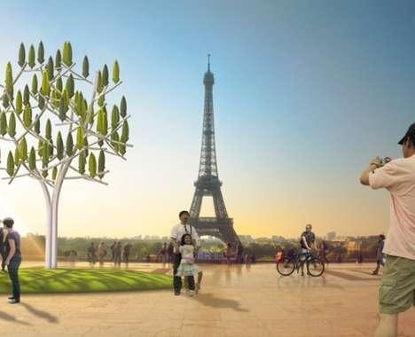 Tree-Shaped Turbines