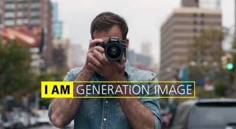 Millennial Photography Campaigns - Nikon's 'I AM Generation Image' Appeals to the Instagram Age