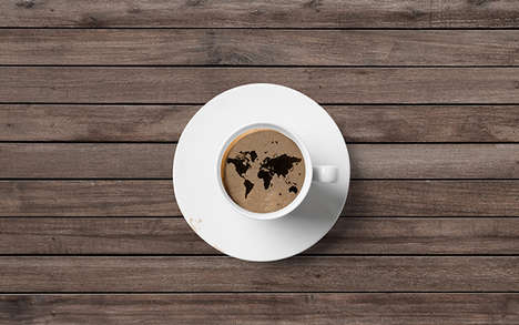 International Coffee Branding - The Coffeepolitan Branding Overhaul Features a Worldly Theme