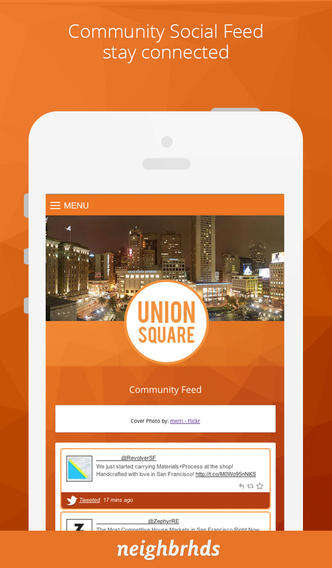 Localized Community Apps - Neighbrhds' Series of Local Apps Cater to Specific Areas Within Cities