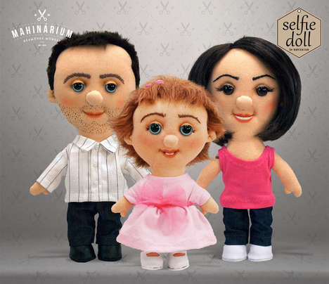 Custom Selfie Dolls - This Etsy Store Creates Dolls Based on Your Selfies