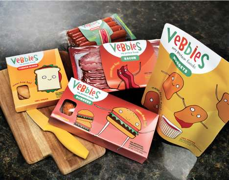 Adorable Veggie Packaging - These Vegetarian Food Packages for Kids Makes Meat-Free Options Friendly