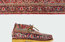 Carpet-Inspired Footwear Collections - Anton Repponen's Persian Shoes are Inspired by Ornate Rugs