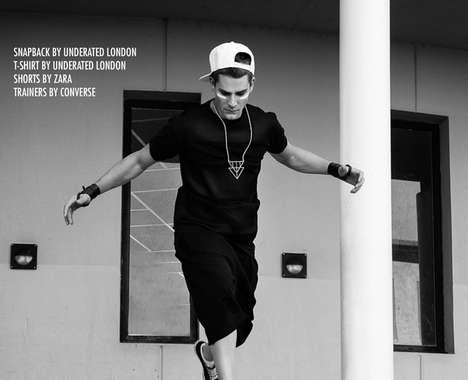 Monochrome Streetwear Photography
