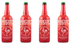 Unconventional Sriracha Beers - Rogue Creates a Hot Lager Fit for Spicy Food Lovers and Hipsters