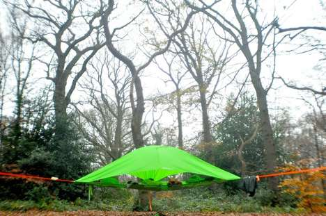 Multi-Level Tents - The Tentsile Vista Tent Accommodates Multiple Levels