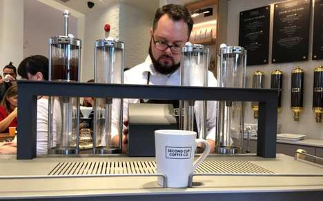 Laboratory Coffee Shops - Second Cup Debuts 'Cafe of the Future' in Toronto