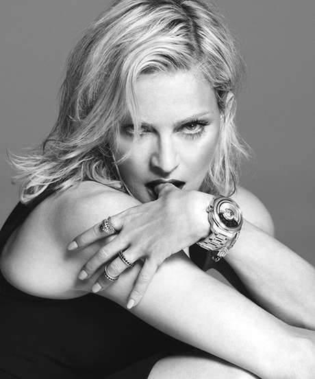 Pop Queen Campaigns - Madonna Stars in Versace's Spring/Summer Campaign