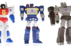 DIY Robot Toys - Hasbro Adds 3D Printed Transformers to Shapeway's SuperFanArt Category