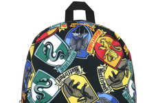 Scholastic Teen Wizard Accessories - This Harry Potter Backpack Features Hogwarts House Crests