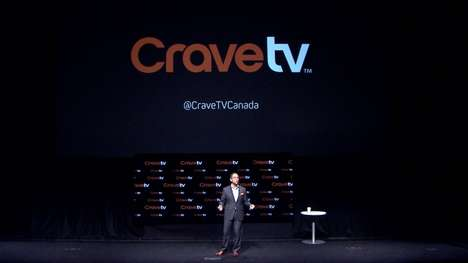 TV-Watching Marathon Stunts - Bell Media Launches CraveTV with a Guinness World Records Attempt
